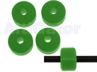 Landing skid pads (⌀ 6.5mm) - green