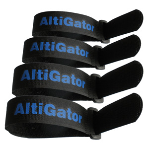 Set of 4 Velcro straps - 200mm