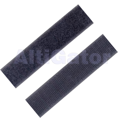 Set of self-adhesive Velcro loop and hook straps