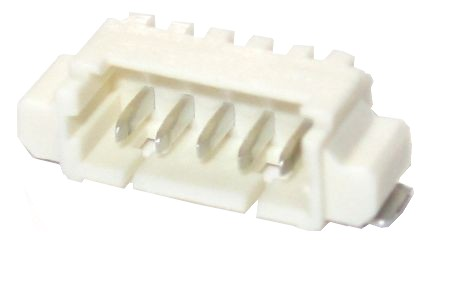 Molex connector - 5 contacts SMD