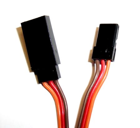 Servo extension cable 15 cm