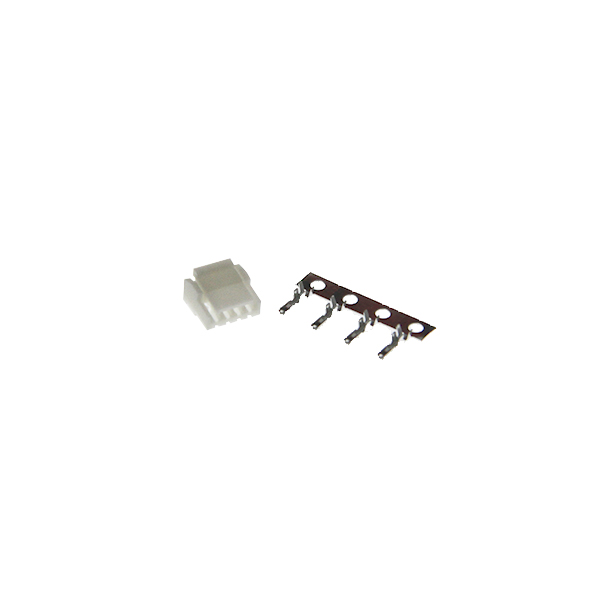 4-pin JST-GH 1.25mm connector male