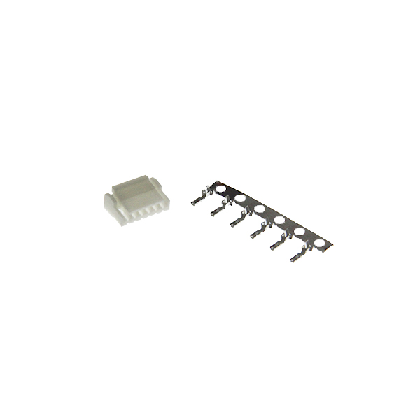 6-pin JST-GH 1.25mm connector male