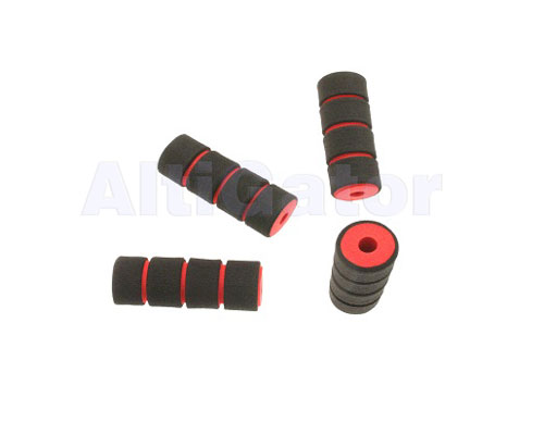 Soft landing skid sleeves