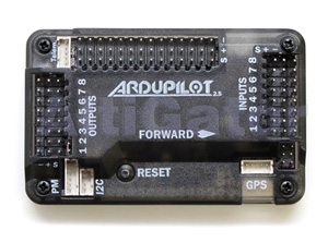 Protection housing for ArduPilot 2.6 (top-entry)