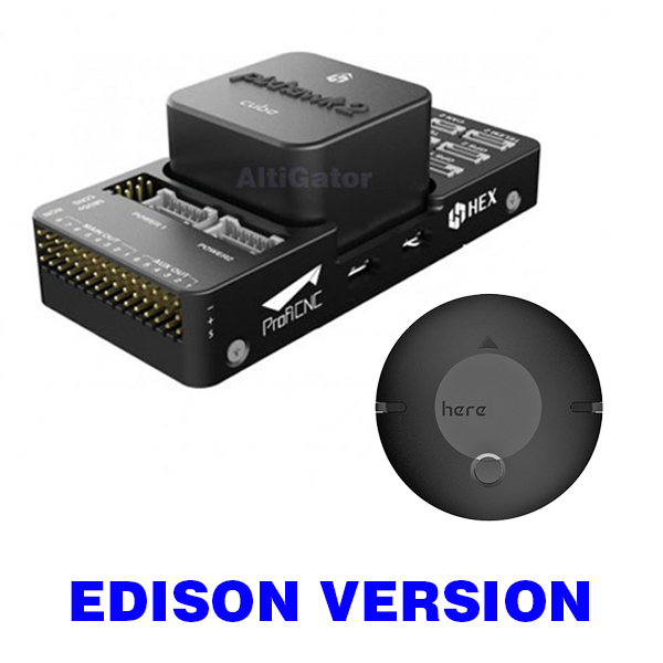 [IN STOCK] Pixhawk 2 - The Cube (Edison ready) + Here GNSS