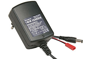 Graupner twinn charger - for radio transmitters