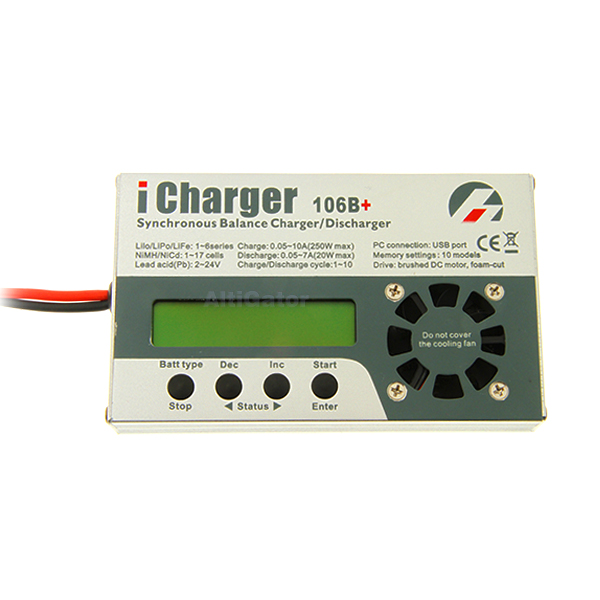 Chargeur de batteries i-Charger 106B+ 250 Watts