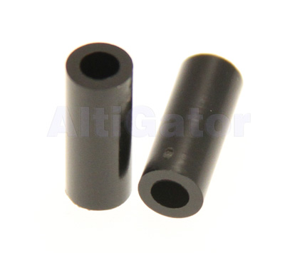 Spacers 3x15mm black (plastic)