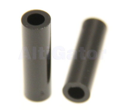 Spacer 3x20mm black (plastic)