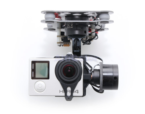 DYS 3-Axis gimbal for GoPro3 and GoPro4