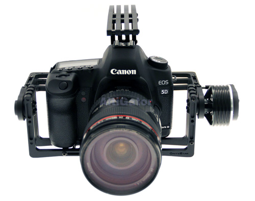 OBG-1800U 2 axis brushless camera mount - for Canon 5D or similar