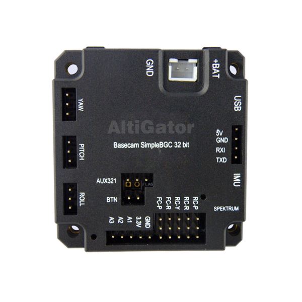 Alexmos brushless gimbal controller - 3 axis/32bits with 2 IMUs