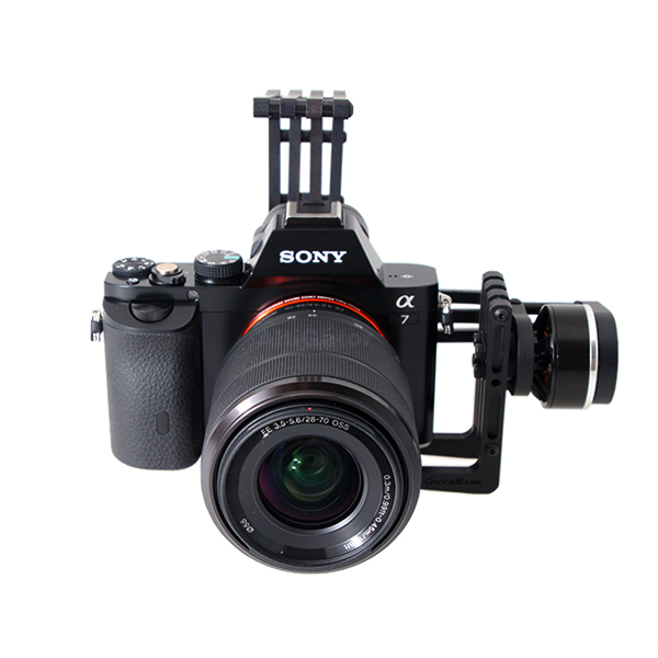 OBG-1000L 2-axis brushless gimbal for Sony handycams, Alpha 7, ...
