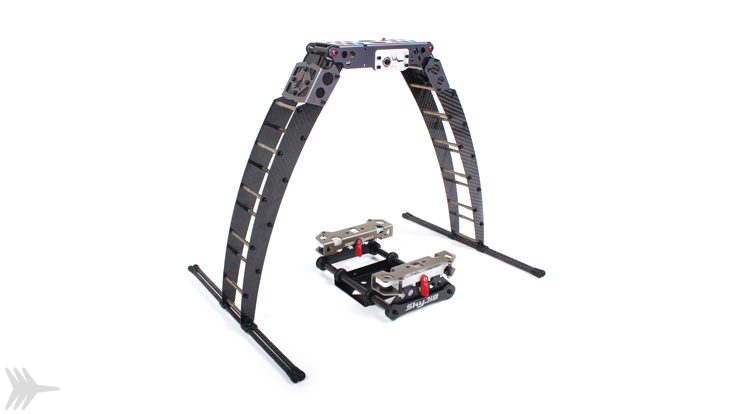Retractable landing gears in: Frames & structures-> Landing gears