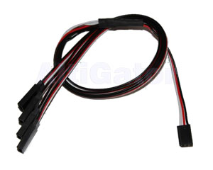 Calibration cable for 4 ESCs