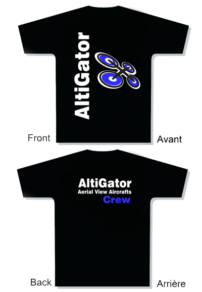 T-Shirt AltiGator Crew - Taille: XL
