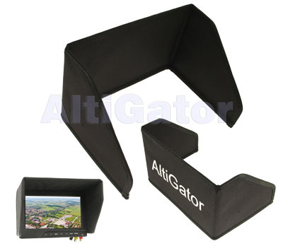 Sunshade for 8'' monitor