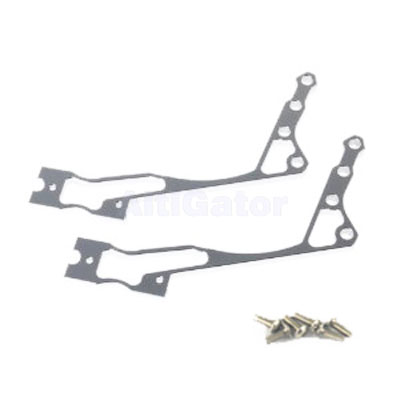 Long bracket for monitor mount and pult for radiocontrol