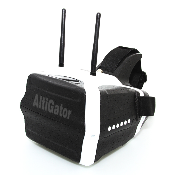 HD Headset for FPV flying with built-in diversity