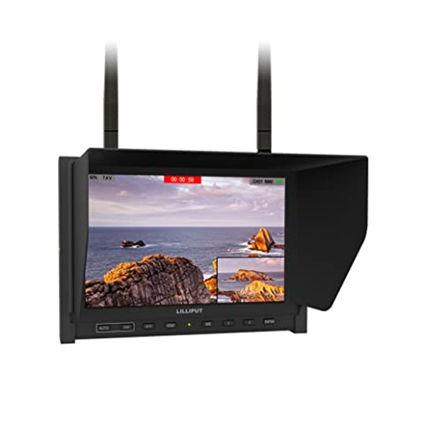 Lilliput 339/DW HD Monitor (with built-in 5.8GHz receivers)