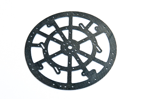 Carbon CenterPlate 2mm - combi