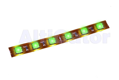 LED stripe GREEN Hi-Power (flexible, water resistant)