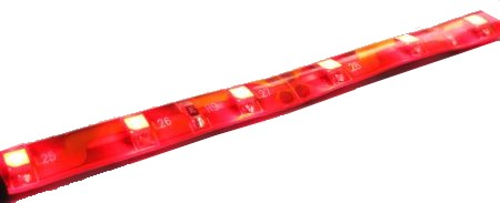 LED stripe RED (flexible, water resistant)