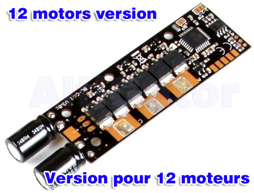 BL-Ctrl V3.0 2XL(MikroKopter ESC, adresses 9 to 12)