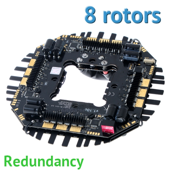 Redundant Okto ULTRA power board - BL-Ctrl v3.0 (for 8 motors)