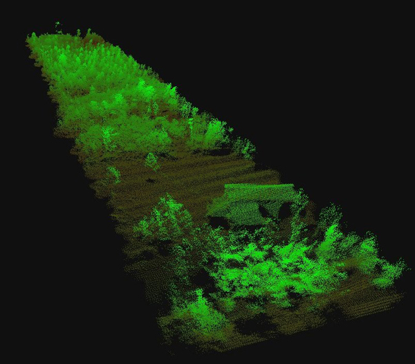 Drone embedded LIDAR high definition 3D imagery
