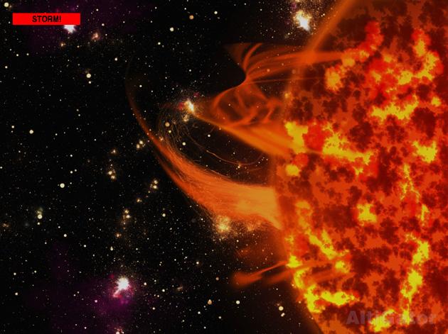 solar storm current status -#main