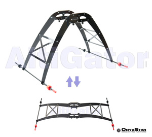 Fixed landing gears in: Frames & structures-> Landing gears