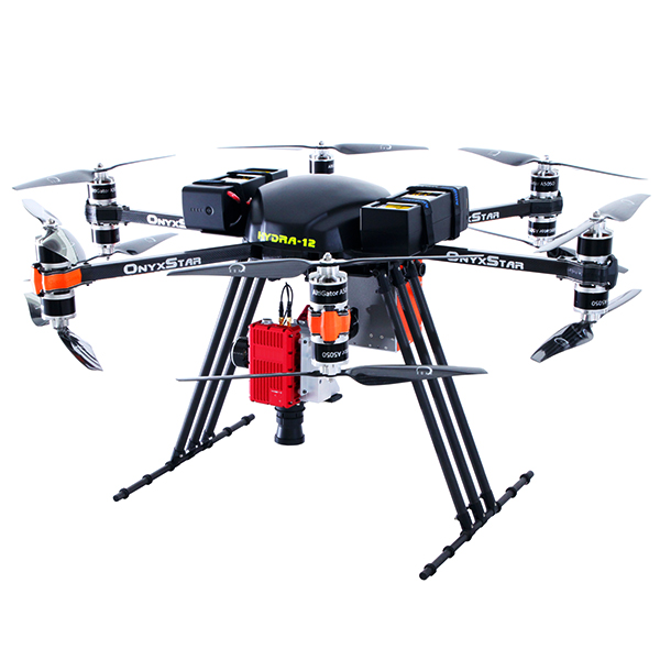 OnyxStar® HYDRA-12 - Heavy-lift drone with 12Kg of payload