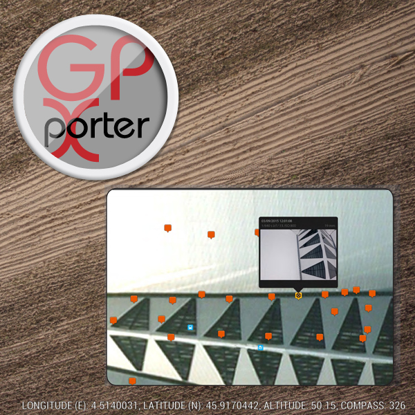 GPXporter® - Image geotagging software