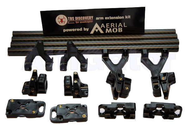 Extension carbon arms kit for TBS Discovery Pro and F450/550
