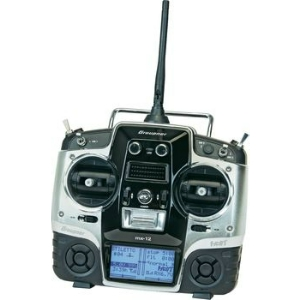 Transmitter MX-12 HOTT V2 (6 channels) with receiver