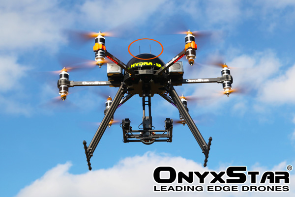 Receiver antenna tubes (380mm) : Drones, UAV, OnyxStar, MikroKopter