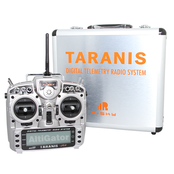 FrSky - Taranis X9D PLUS with aluminium case