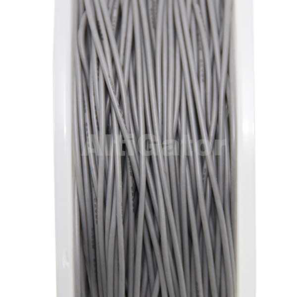 Silicone cable - 22AWG / 0.33mm² Gray
