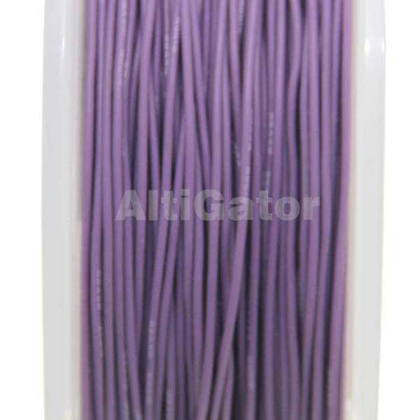 Silicone cable - 22AWG / 0.33mm2 Purple