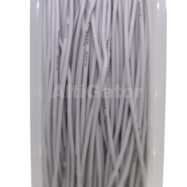 Silicone cable - 22AWG / 0.33mm2 White
