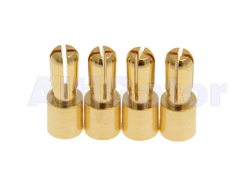 3.5 mm bullet connectors