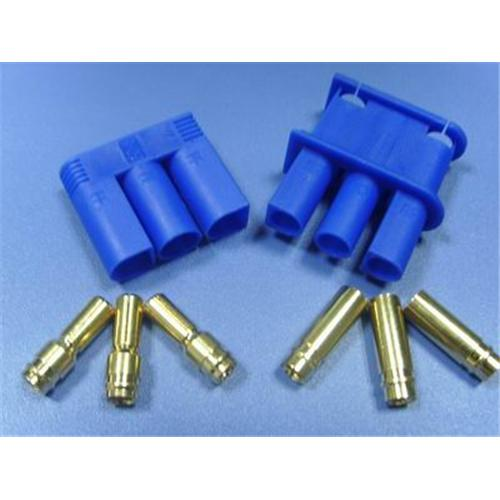 EC5 5mm triple plug kit male & female