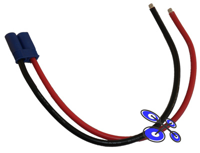 Battery connection cable - EC5 12 AWG