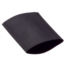 Heat shrink tube black 9mm - 1m