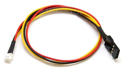Plug and play 3-pin cable for CCD camera