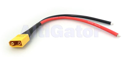 Battery connection cable - XT60 14 AWG