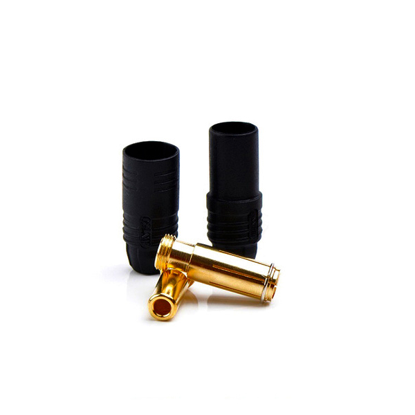 AS-150 plug kit male & female (black)