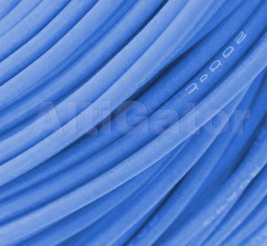 Silicone cable - 18AWG / 0.75mm2 Blue